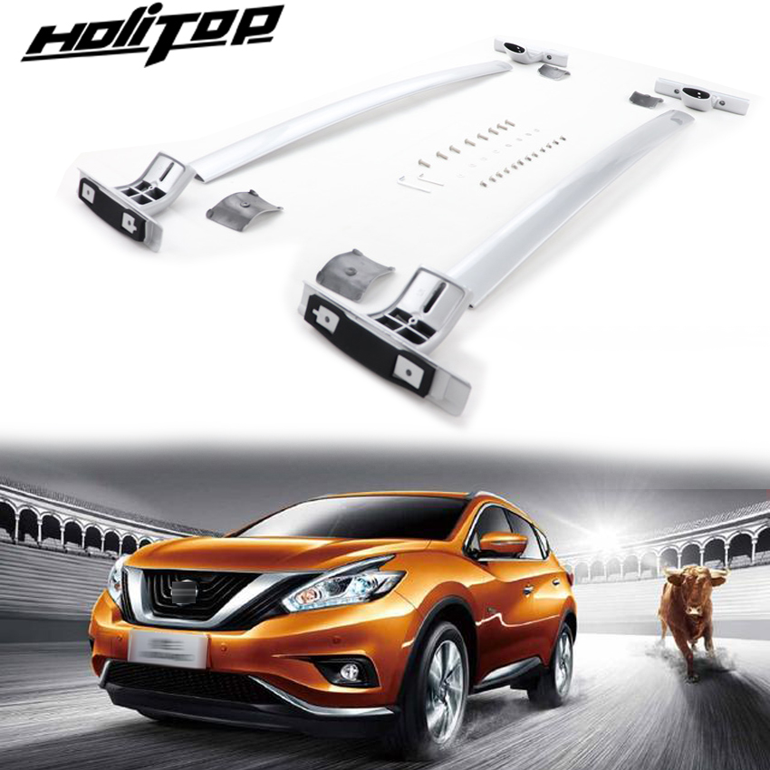 new arrival cross bar luggage horizontal roof rack for Nissan Murano 2015 2019 thicken aluminium alloy