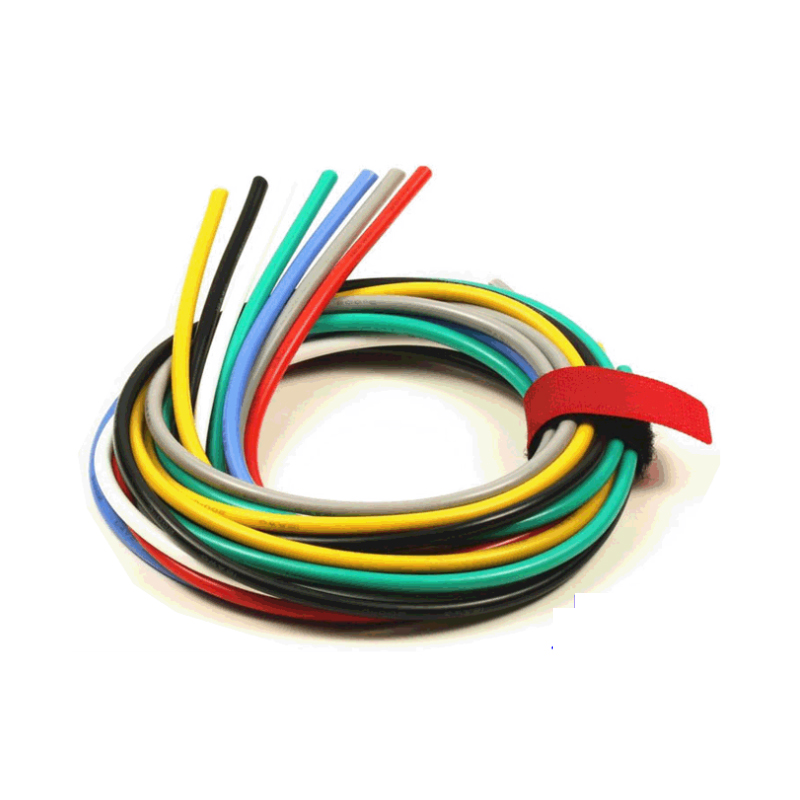 1meter AWG 8 <font><b>10</b></font> 12 14 <font><b>16</b></font> 18 20 22 AWG Flexible Silicone Solid electronic wire Tinned Copper line for airplane motor image