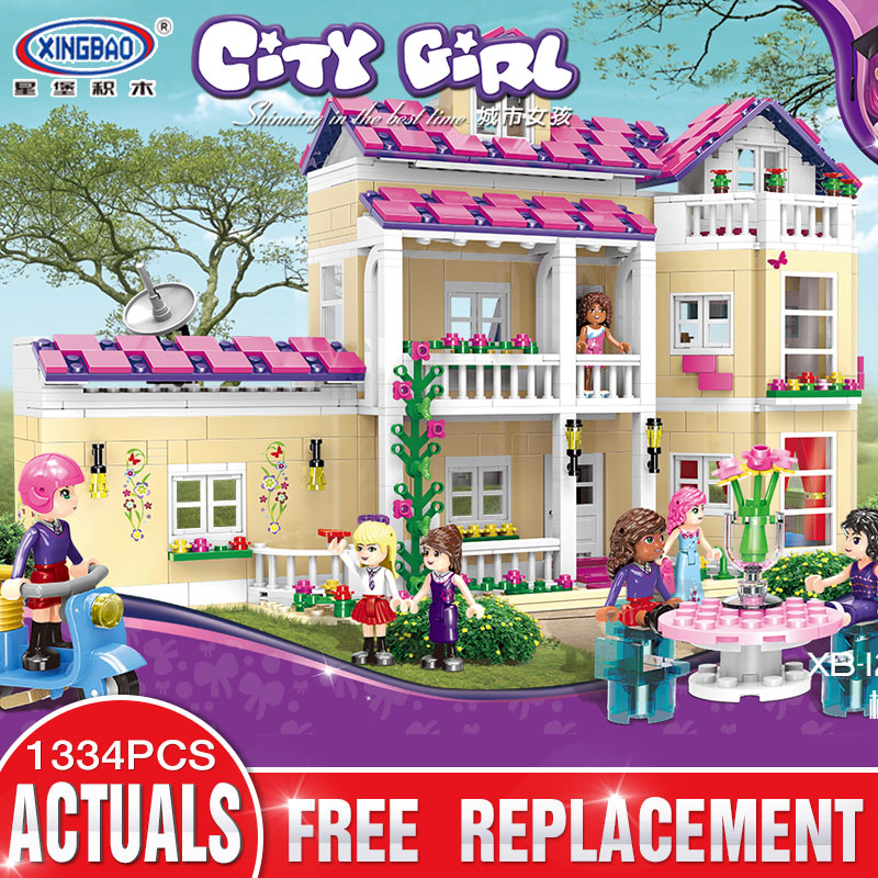 XINGBAO 12006 Friend Girl Series The Happy Dormitory Set compatible LegoING Building Blocks Bricks Educational Girls ToysXINGBAO 12006 Friend Girl Series The Happy Dormitory Set compatible LegoING Building Blocks Bricks Educational Girls Toys