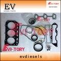 Для Yanmar 3TNV88 полный двигатель уплотнитель головки цилиндра комплект прокладок