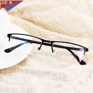 Image 2 - 2019 Titanium Alloy Business affairs Sun glasses Transition Photochromic Reading Glasses Men Presbyopia Glasses +1.0 To +6.0