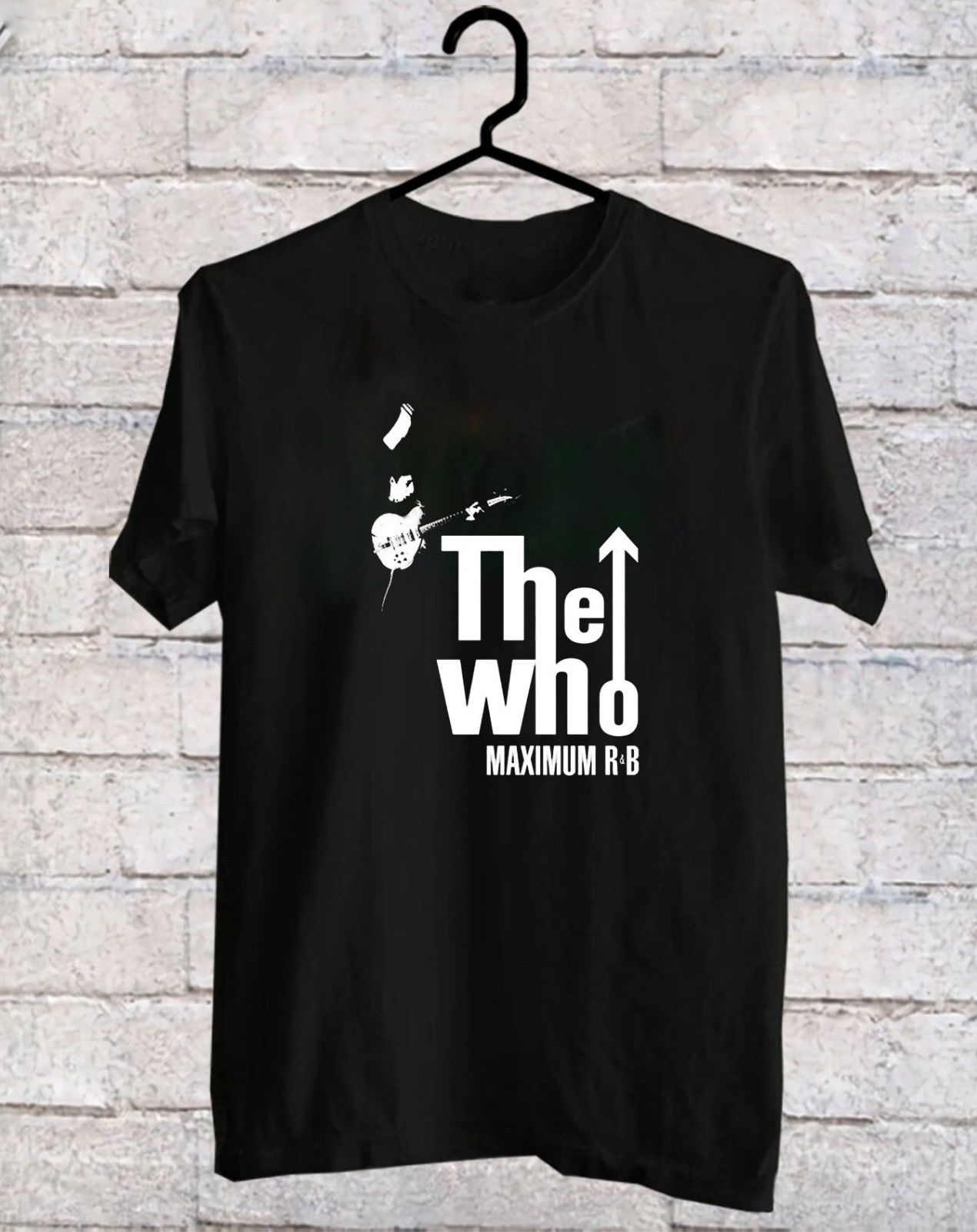 The Who- Maximum R&B Black T-Shirt tee shirt S-3XL