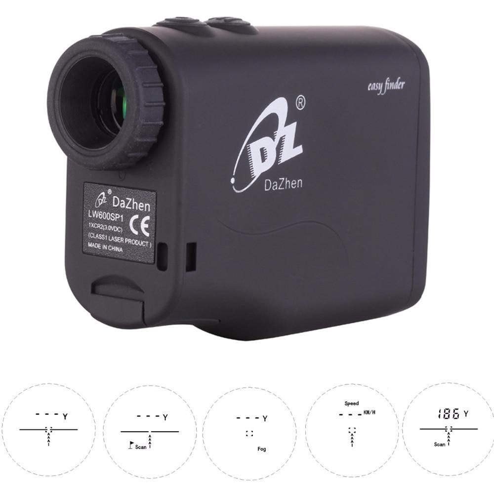Hunting Rangefinder Golf Laser Range Finder 1000m 600m Laser Distance Meter Monocular with Scan Speed Measurement Optic 1200Y