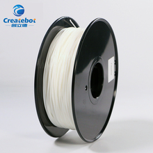 Createbot 3d printer filament black Hips white Nylon 1.75mm 1kg High quallity Plastic Filament Materials for RepRa