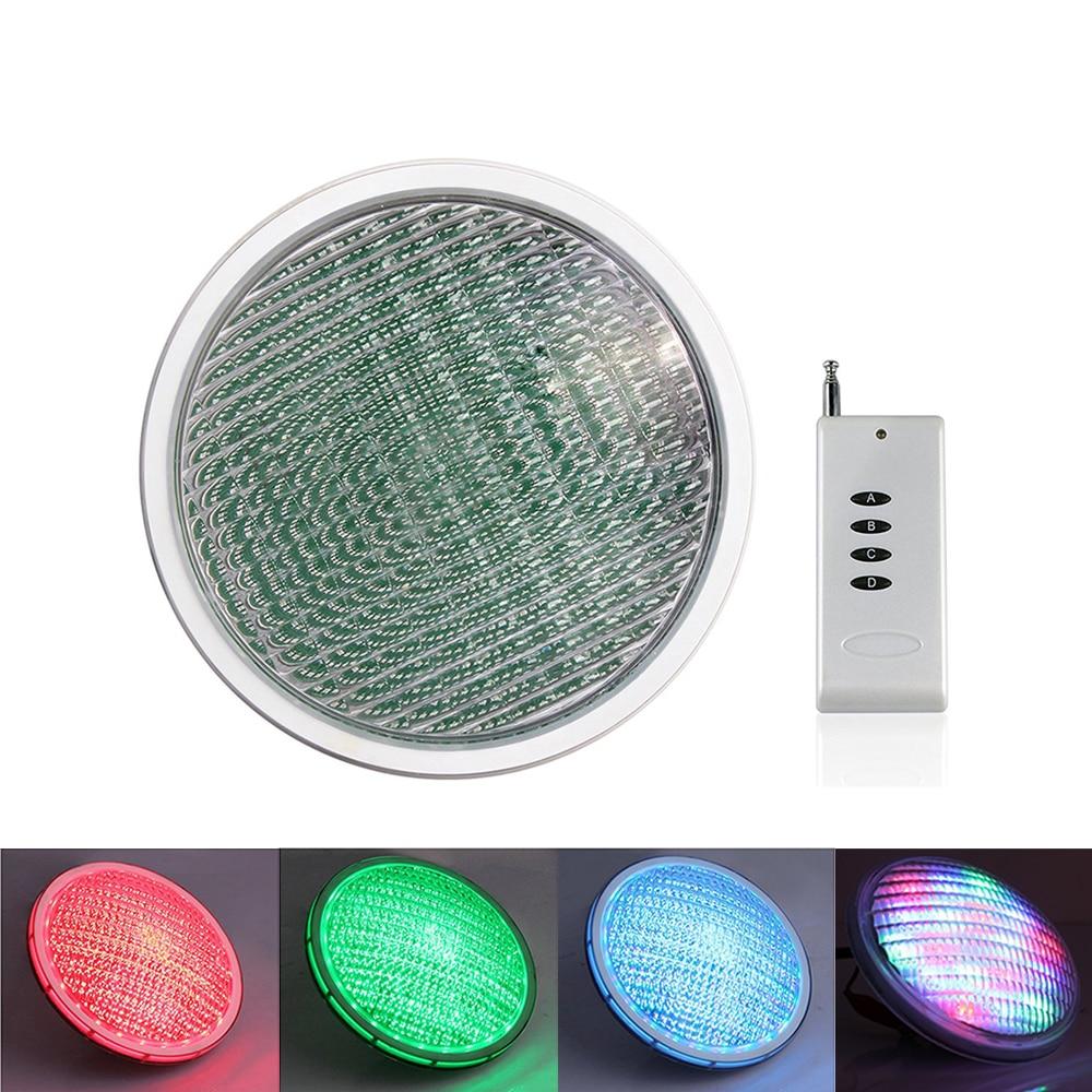 IP68 Swiming Pool Light RGB LED Waterproof Underwater Pond Lighting RGB Spotlights Lamp For Outdoor Pool