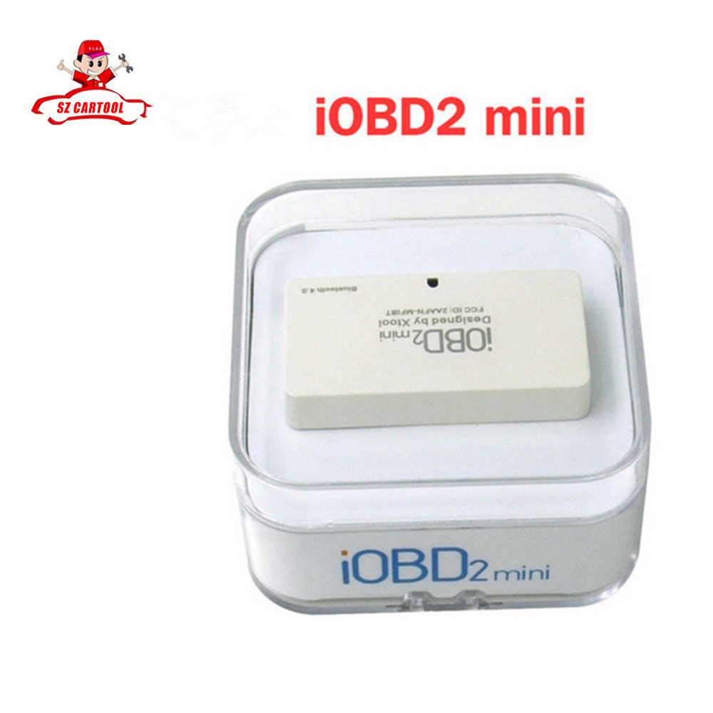 Hot selling Original Xtool IOBD2 mini for IOS and Android IOBD2 Bluetooth diagnostic tool with free shipping effio e ccd 700tvl mini bullet pin hole camera sony ccd camera with bracket for security dvr cctv industrial surveillance camera
