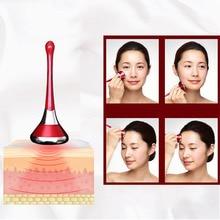 Электрический массажер для лица магнитный+ ионная терапия для лица глаза эссенция для кожи импорт машина кожи укрепляющий увлажняющий массажный вибратор