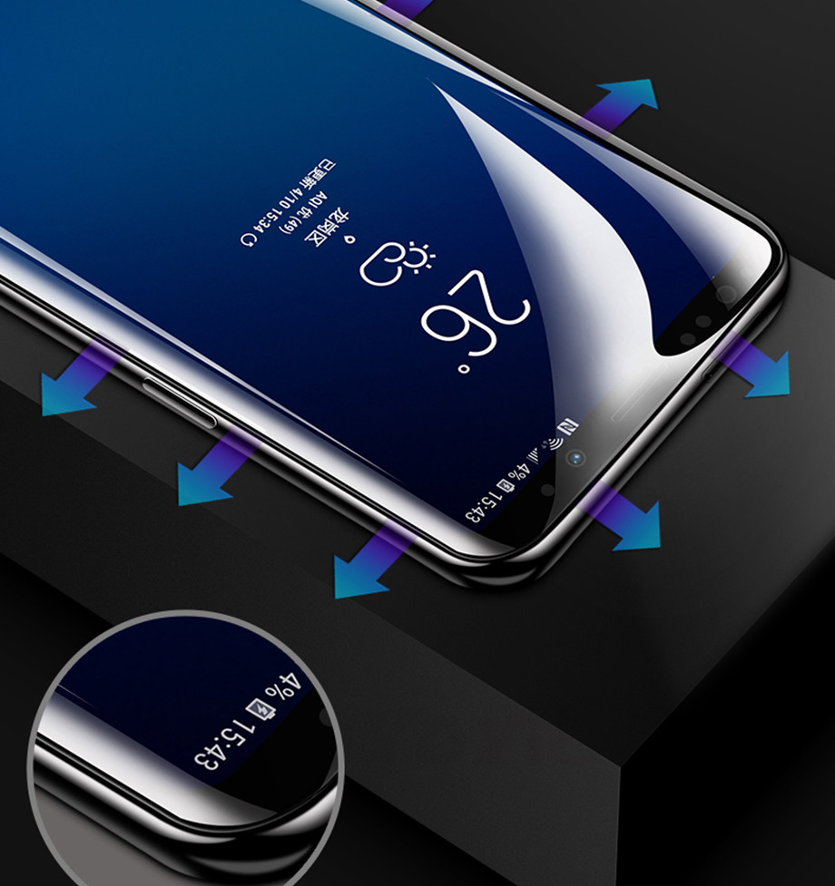 8 For Samsung Galaxy S8 S8 Plus Screen Protector For Samsung Galaxy S9 S9 Plus Screen Protector For Samsung Galaxy Note 8 Screen Protector For Samsung S6 S7 EDGE screen Protector