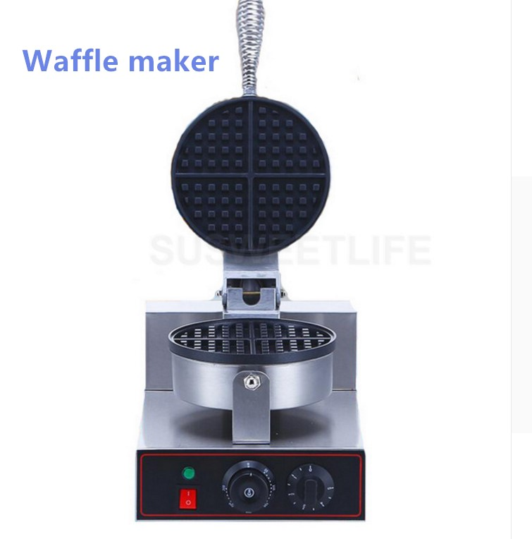 Commercial Waffle Maker Waffle Oven Electric Pancake Breakfast Scone Snack directly factory price commercial electric double head egg waffle maker for round waffle and rectangle waffle