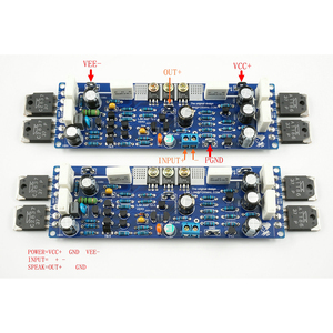 Image 2 - 2 PCS High Power Audio L12 2 ชุดเครื่องขยายเสียง Dual Channel Ultra   low Distortion Amplifier แอมป์คลาสสิก DIY ชุดบอร์ด