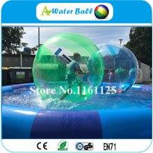 321f2e9899 Frete Grátis 2 m TPU água pé bola inflável gigante aluguel caminhada na bola  bolha de