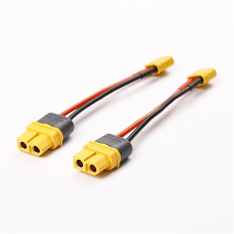 5 шт./лот AMASS XT60 Female to XT30 Male Adapter 16AWG 2 S/3 S Lipo Battery Chareger силиконовый кабель для моделей RC DIY аксессуары