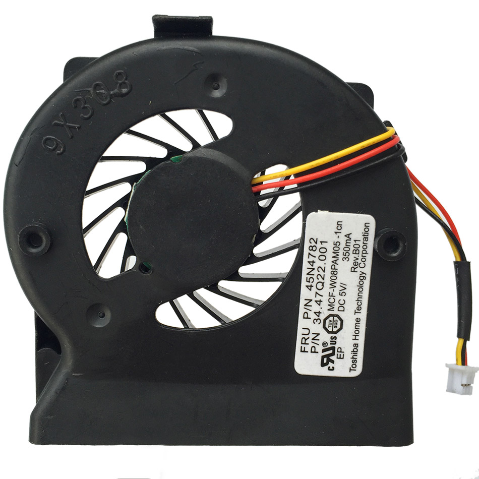 New OEM Cooling Fan For Lenovo IBM Thinkpad X200 CPU X201 X201I Cooler Radiator Cooling Fan 45N4782 Free shipping