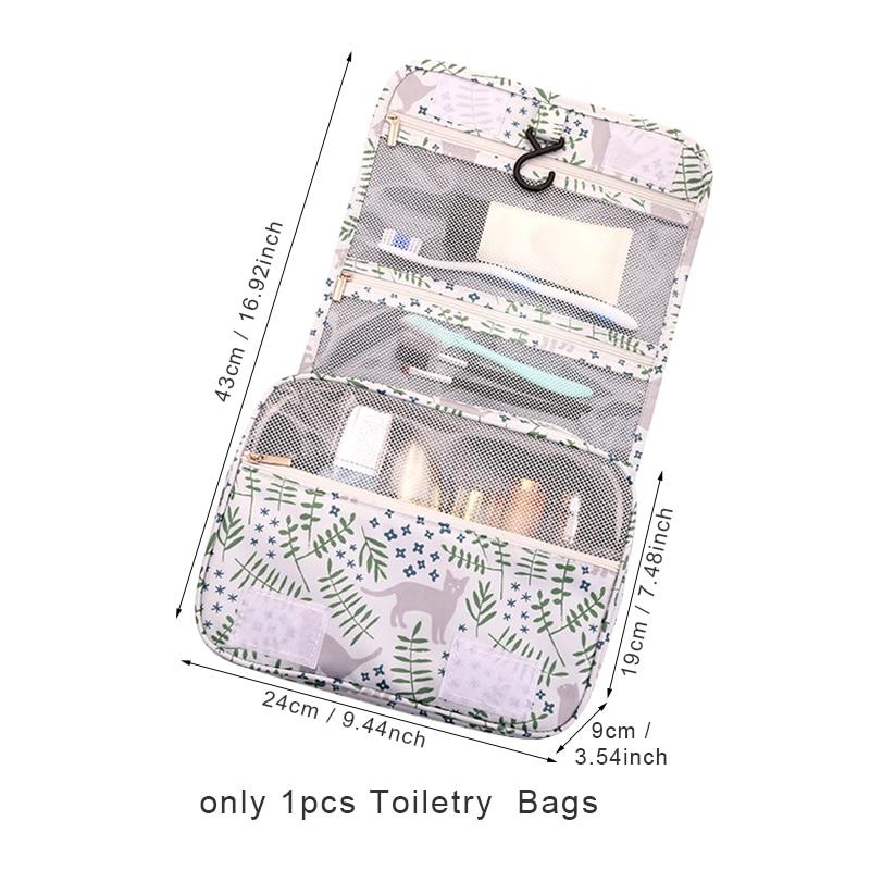 Для женщин Для мужчин Водонепроницаемый висит сумка для хранения туалетных принадлежностей стиральная вещи макияж Красота Организация Де...