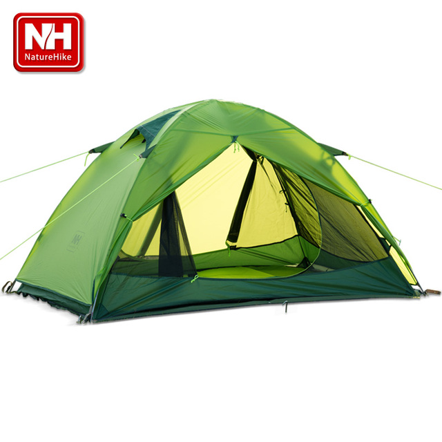 UPS FEDEX FAST SHIPPING  Arrivals 205*190*110 cm Double Person Waterproof Double Layer Outdoors Camping Durable Gear Picnic Tent