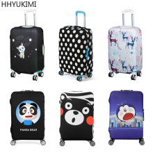 Luggage Bags - Travel Accessories - HHYUKIMI Brand Travel Elastic Luggage Protective Cover For 20 To 29 Inch Suitcase Cover Trolley Case Travel Luggage Dust Cover