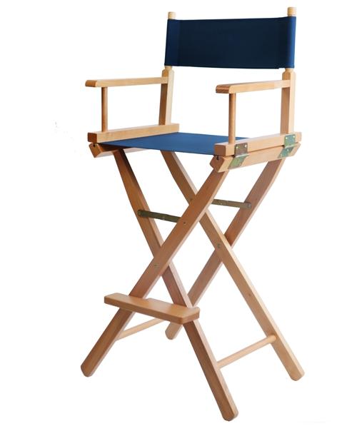 slido playa silla del director de madera natural acabado con silla de director silla plegable muebles