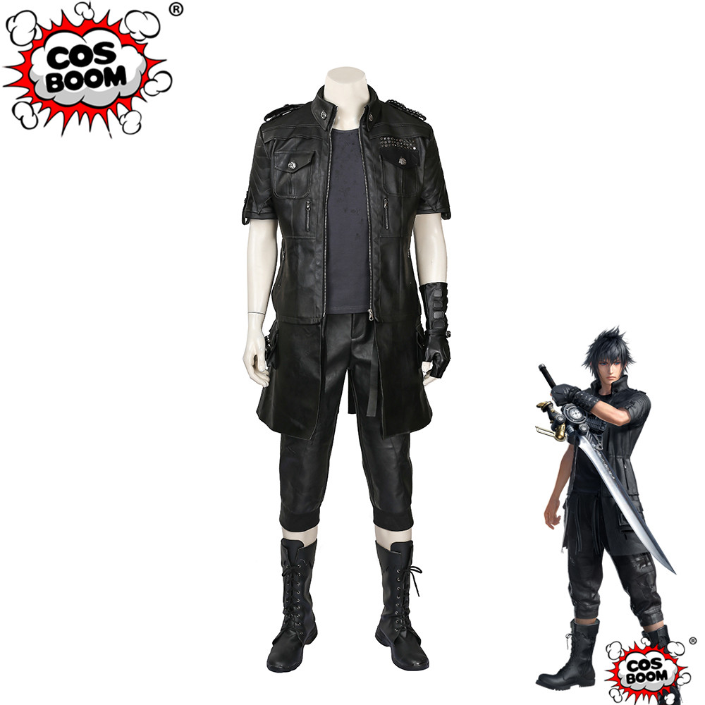 COSBOOM Final Fantasy XV Noctis Lucis Caelum Cosplay Costume Halloween Carnival Men's Final Fantasy XV Cosplay Costume