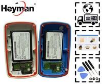 Caixas da porta da bateria de heyman para garmin edge 800 361-00025-10 capa traseira de volta com bateria (com bateria cartão sd carga connecto