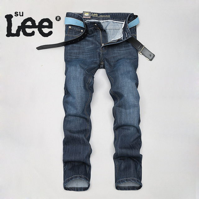 SuLee Fashion Men Brand Denim Jeans High Quality Cheap Jeans Men's ...