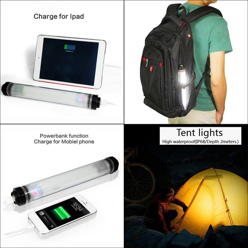 450LM Camping Φως IP68 αδιάβροχο για την - Φορητός φωτισμός - Φωτογραφία 4