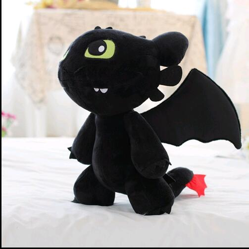 product 18cm-30cm How to Train Your Dragon 2 Toothless Night Fury Soft Plush Stuffed Doll Toy Christmas Kids Juguetes Gift for Child