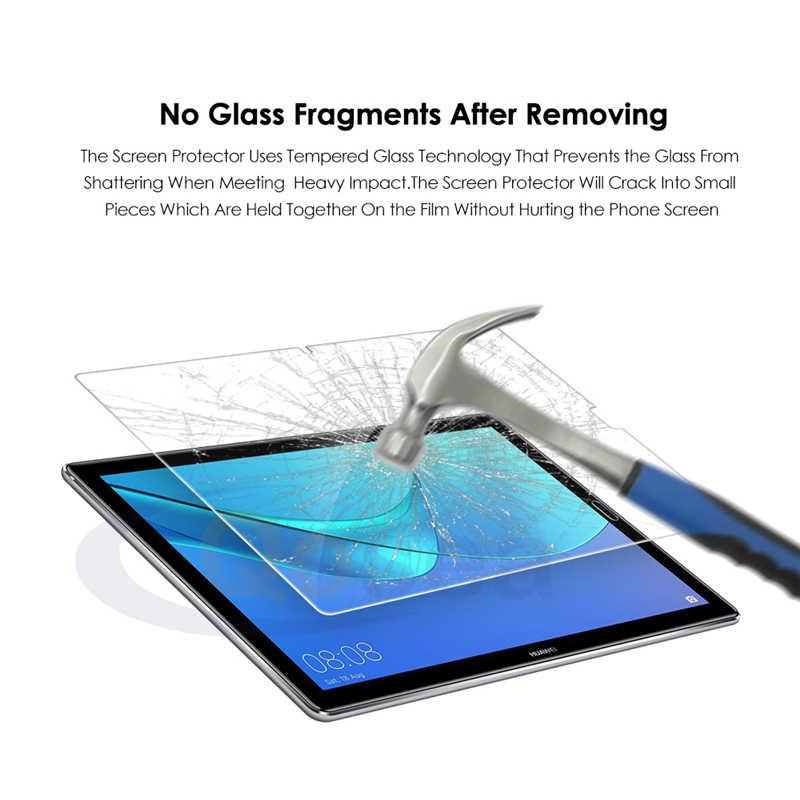 واقي للشاشة لهواوي MediaPad M5 10.8 بوصة الجدول PC جالس خفف 9 H جدا واضح فيلم لهواوي MediaPad M5 8.4 الزجاج