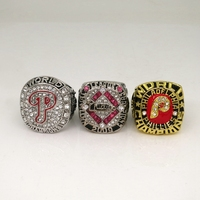Free Shipping High Quality 3pc 1980 2008 2009 Philadelphia Phillies World Series Championship Ring Factory Outlet