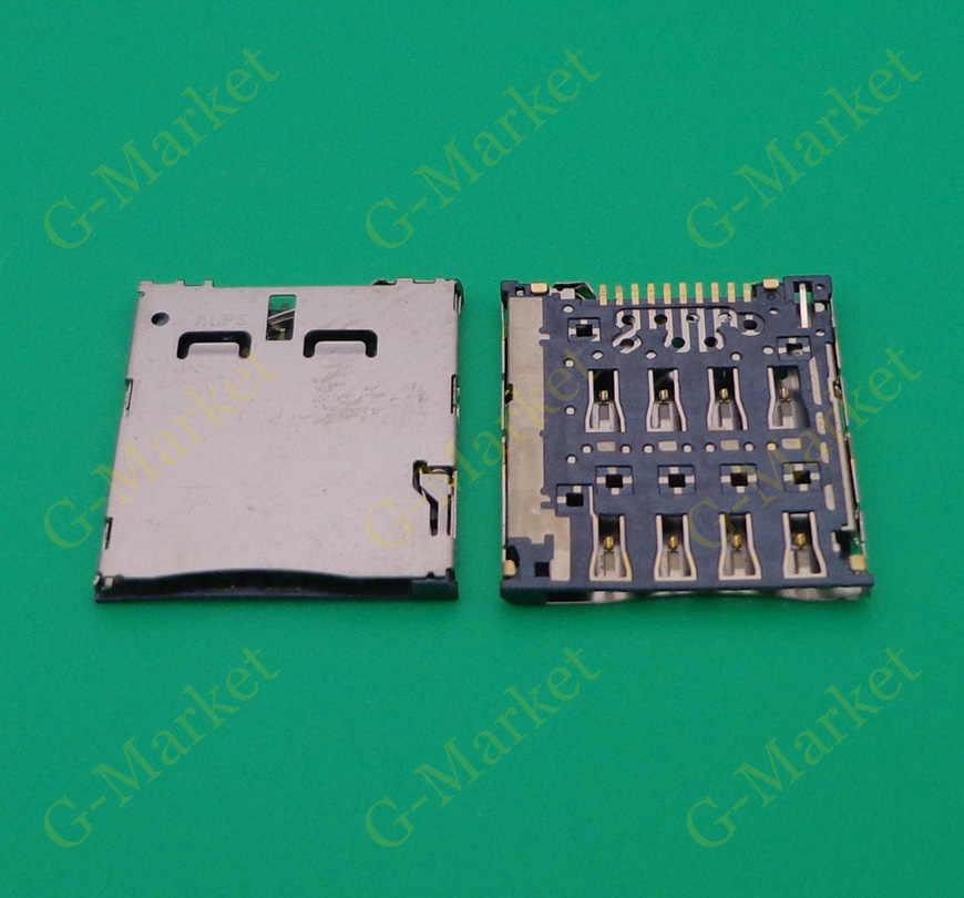 Asus Memo Pad 7 Package: 100pcs ASUS FonePad K004 Gimax 50pcs to 100pcs Micro Sim Card Reader Holder connector for LG F100 P895 VS950 LG-VS950