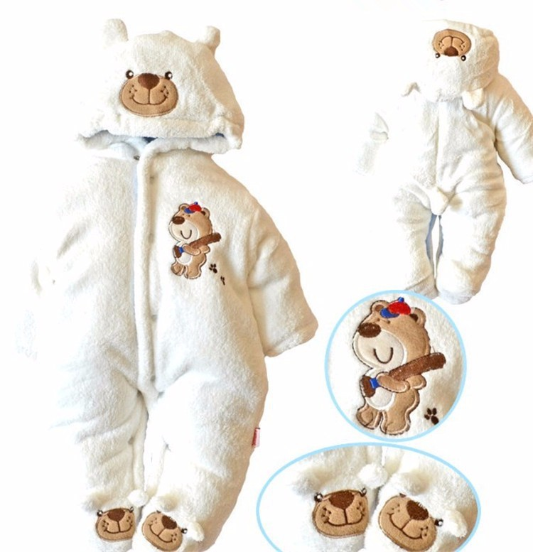 One-Piece Baby Romper Snowsuit Boy Girl Winter Down Snow Casaco Next Kids Clothes Newborn Coat Children Clothing Parkas Costume 6