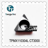 TPGX110304L CT3000, 10pcs Genuine Original Cnc Lathe Dedicated Blade,suitable For Outer Circle, Inner Hole, End