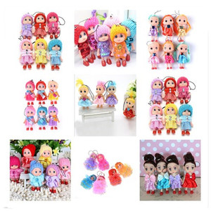 8 CM For Girls boys Dolls & Stuffed Toys 1pcs 2018 NEW Kids Toys Soft Interactive Baby Furniture Ornaments Figurines Miniatures