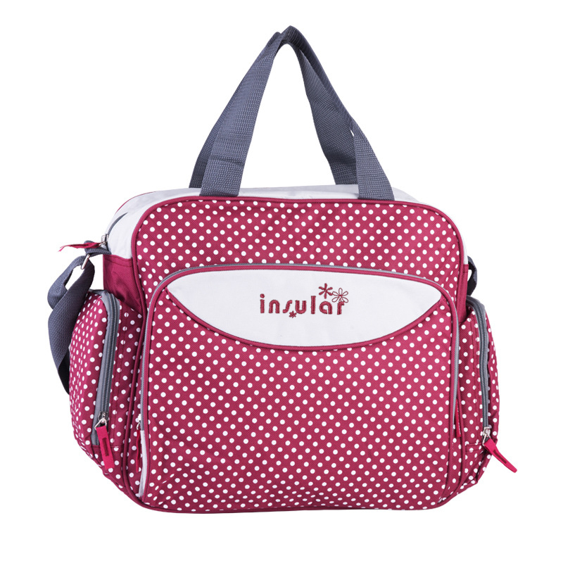 Insular Brand New Diaper Bag Dot Style Mummy Nappy Bags Maternity Shoulder Bags Baby Care