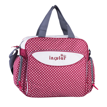 insular Brand New diaper bag dot style mummy nappy bags maternity Shoulder Bags baby care Nappy Changing
