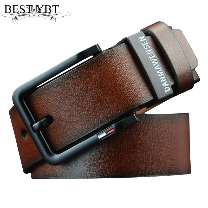 Best YBT men's Imitation leather belt designer belts men luxury strap male belts for men fashion vintage pin buckle for jeans