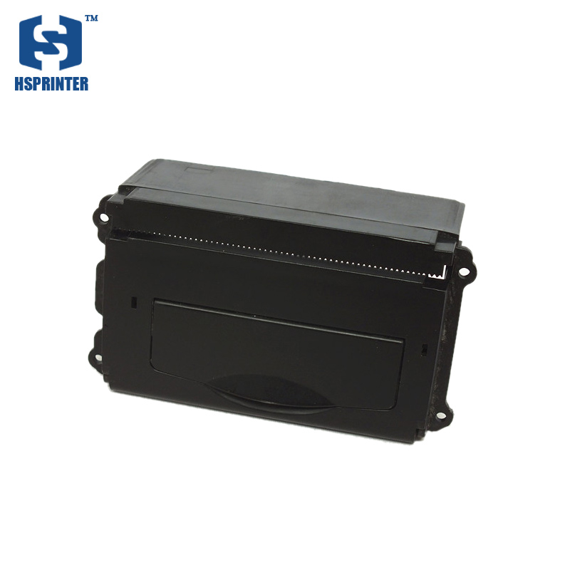 Thermal embedded pos receipt printer 58mm panel module support ESC/POS command for Self Service Modules TTL port 5-9V