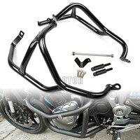 Motorcycle Motor Bike Accessories Bumper Engine Guard Frame Side Protector Protection Crash Bar For Kawasaki Z900 Z 900 2017