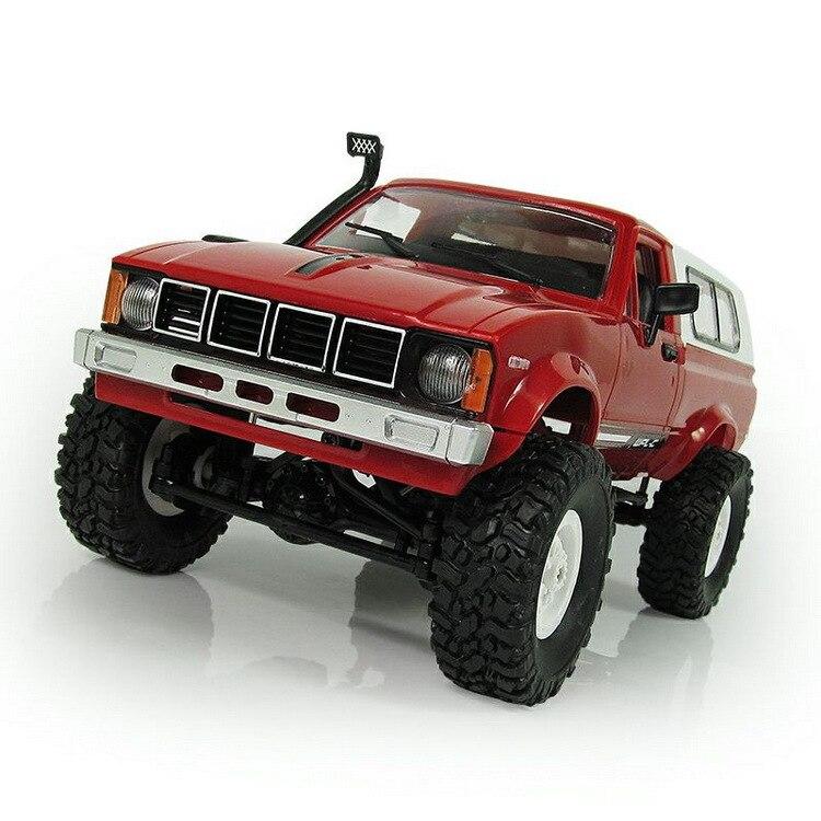 WPL RC voiture C-24 Jeep 4WD RC voiture télécommande jouet 1:16 modèle voiture 2.4G tout-terrain RC haute vitesse camion RTR voiture pour enfant cadeau - 4
