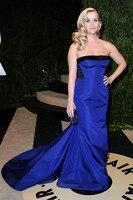 Sexemara Designer Prom Dresses Sexy Evening Dress Bra Large Tailing Large Blue Gemstone Size Custom Fabrics