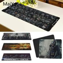 Maiyaca Kualitas Rainbow Six Siege Mouse Pad Gamer Bermain Tikar Keyboard Tikar Meja Tikar Permainan Komputer Tablet Gaming(China)
