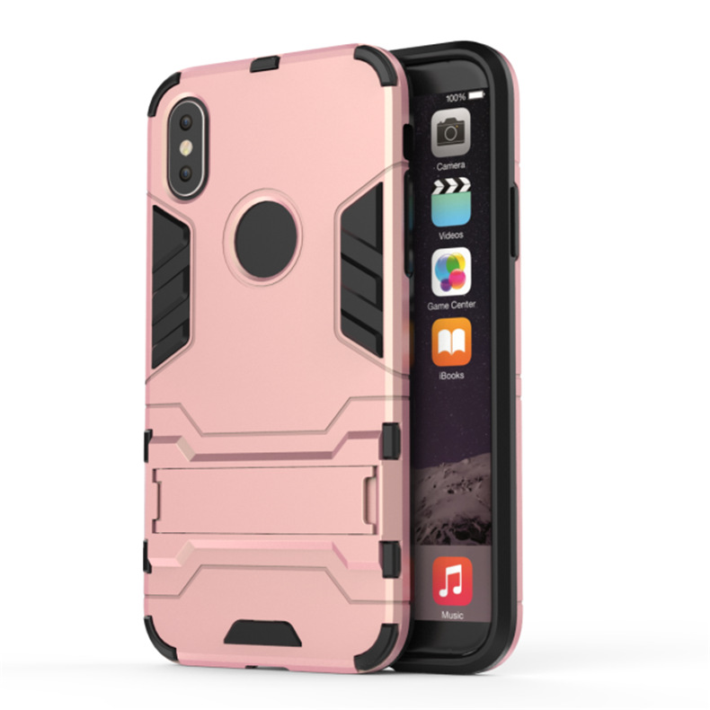 Image 5 - shockproof armor Phone case Anti scratch heavy duty protection for iphone xsmax xr 6 7 8 plus SE Dirt resistant tpu back cover-in Half-wrapped Cases from Cellphones & Telecommunications