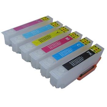 BLOOM IC6CL70 L ICBK70l IC70 refillable ink cartridge for EPSON EP-976A3 EP-805A EP-805AW EP-805AR EP-806AB EP-806AW/AR Printer фото