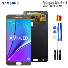 Original LCD for SAMSUNG Galaxy Note 5 Display LCD Touch Screen For SAMSUNG Note 5 Note5 N920A N9200 SM-N920 N920C Screen LCD
