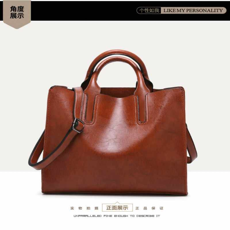 d58bc57e5d06 ... KLY 100% натуральная кожа женские сумки 2018 новые сумки через плечо  товары простая сумка Ms ...