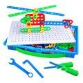 Potencial Arquiteto Criativo combinação Porca brinquedo Removível brinquedo Manual de Remoção das Crianças Puzzle brinquedos