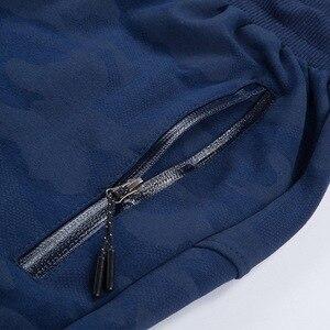 Image 5 - Pantalones de chándal de talla grande para hombre, pantalón cálido, con cintura elástica, de camuflaje, informal, grueso, de terciopelo, para invierno, 8XL, 7XL, 6XL, 5XL