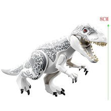 jurassic Dinosaur park Indominus Rex DIY Blocks Dinosaurs Tyrannosaurus Rex Tiny Models Building Block Kids Toys Creator Animals cheap LEQUMOC CN(Origin) Unisex 6 years old Small building block(Compatible with Lego) Certificate Compatible Creator Jurassic Dinosaur Park Dinosaurs Blocks Toy Creator