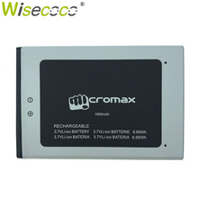 цена на Wisecoco Q383 1800mAh 3.7V Battery For Micromax Q383 Bolt ACBIR18M01 Mobile Phone Battery Replacement+ Tracking Number