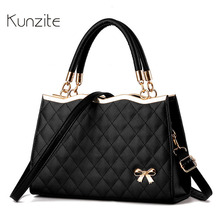 Kunzite New 2017 Women Luxury Pochette Lattice Handbag Famous Brand Designer Crossbody Bags Sling Casual Tote Bag Sac A Main Hot