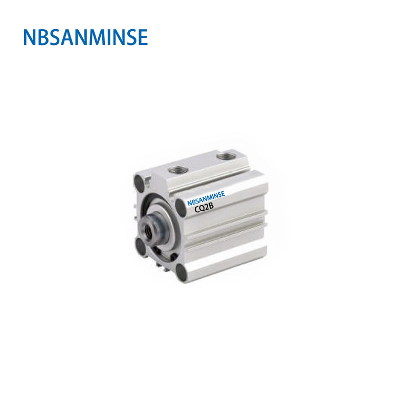 NBSANMINSE CQ2B20 Compact Cylinder SMC Type Double Acting Single Rod Pneumatic ISO Air